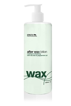 After Wax Lotion with Tea Tree and Peppermint