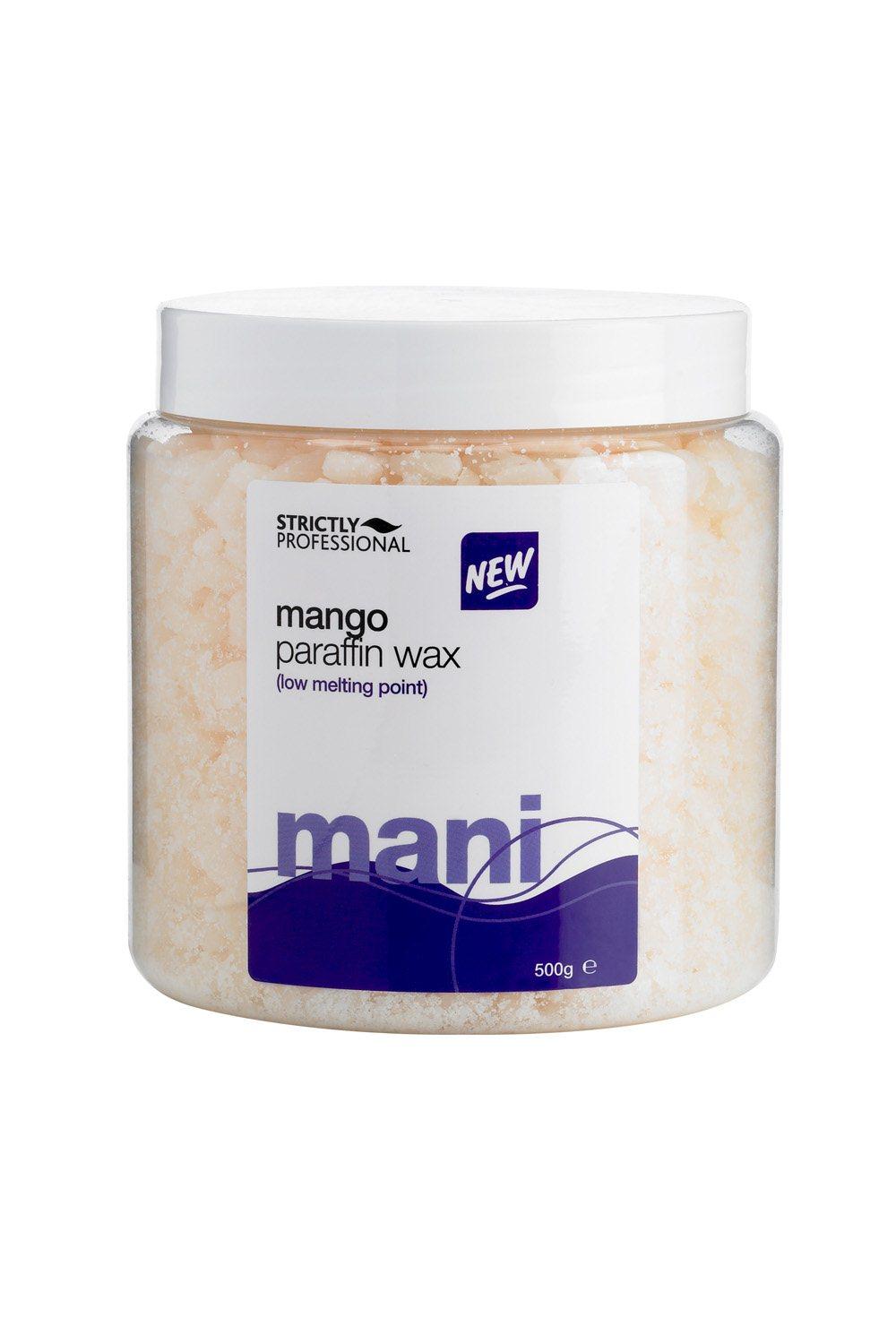 wax melting point